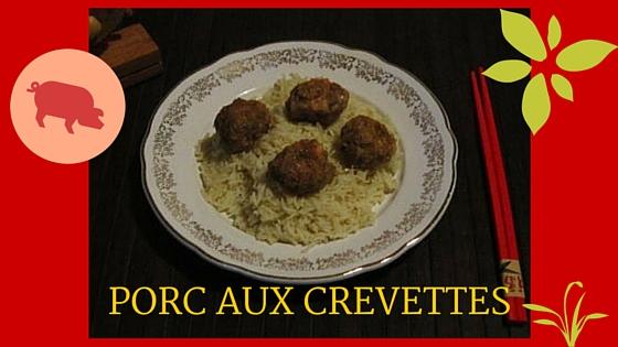 PORC AUX CREVETTES
