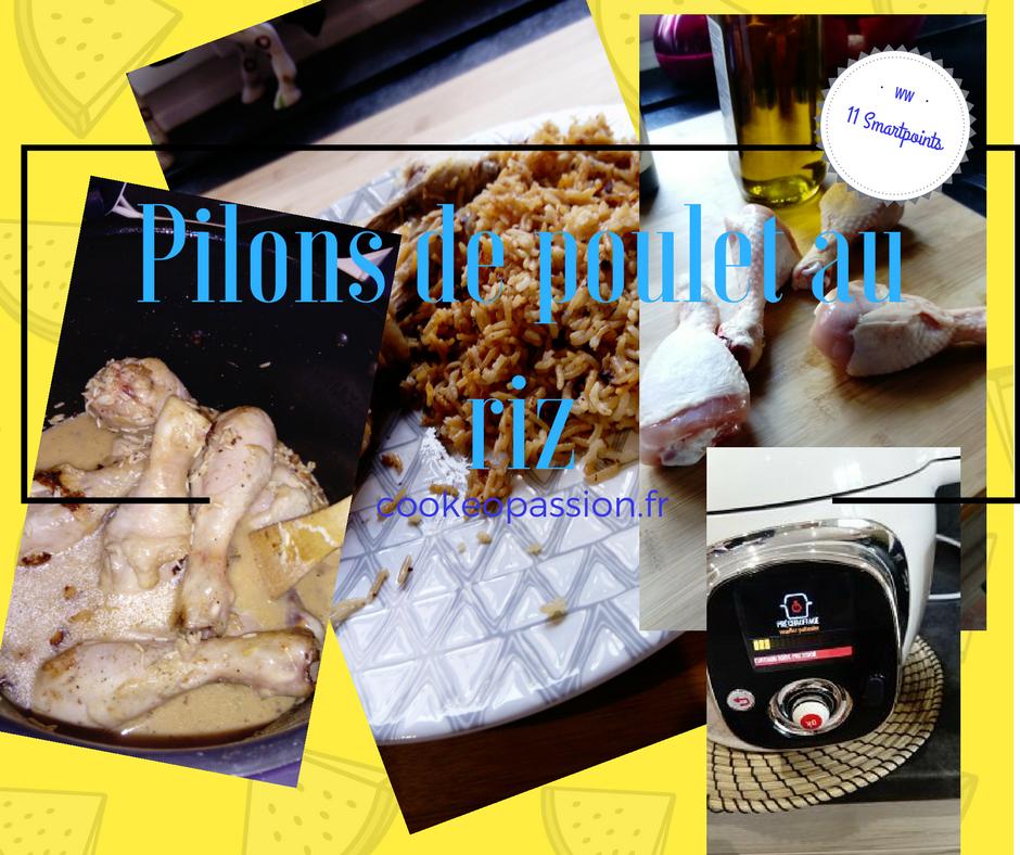 recette a base de pilons de poulet
