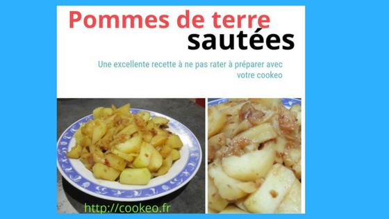 patates sautées au cookeo