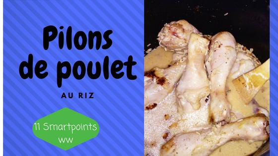 recette de pilons de poulet