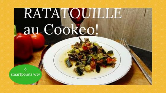 Ratatouille recette rapide au cookeo