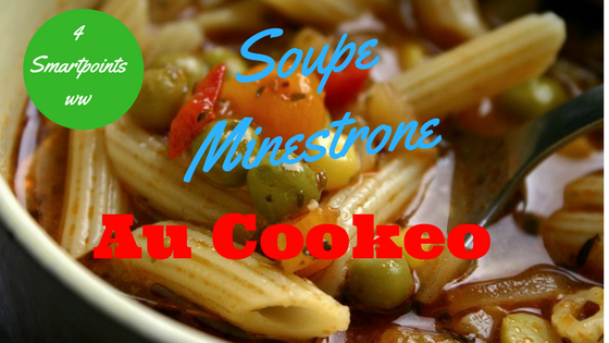 soupe minestrone au cookeo