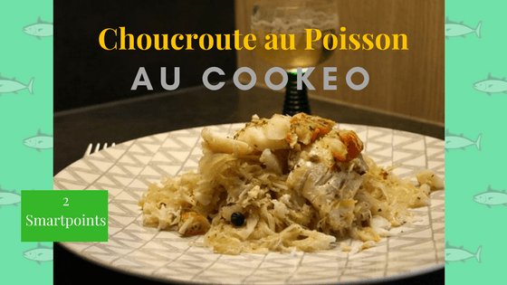 choucroute au poisson façon cookeo