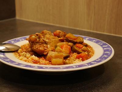 recette couscous avec le cookeo