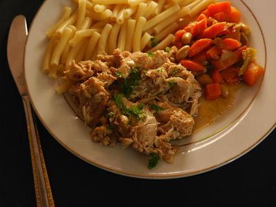 recette poulet au coca au cookeo