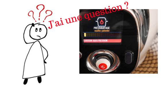 Des questions cookeo